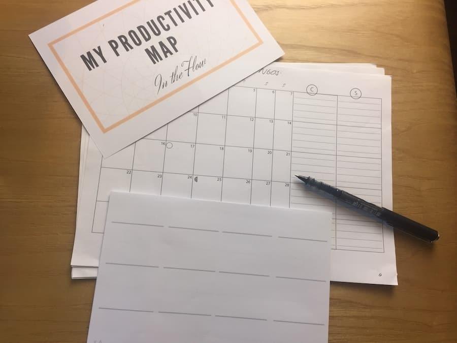 Productivity Map